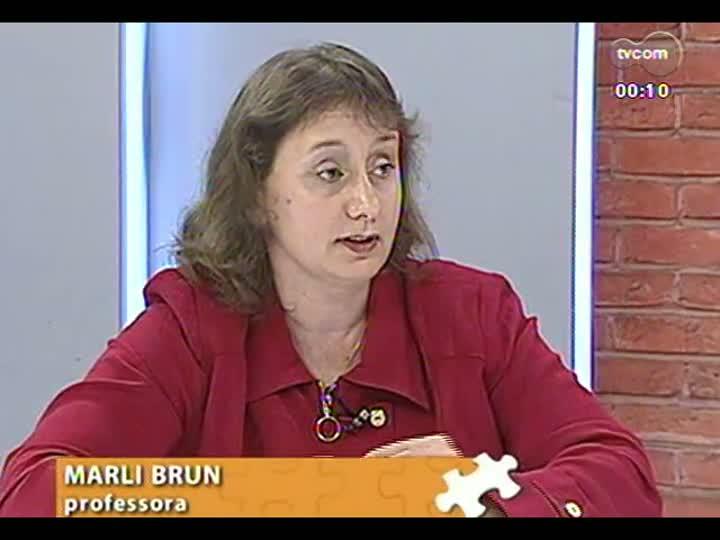 Mãos e Mentes - Professora do Instituto de Educação Ivoti Marli Brun - Bloco 4 - 17/05/2013