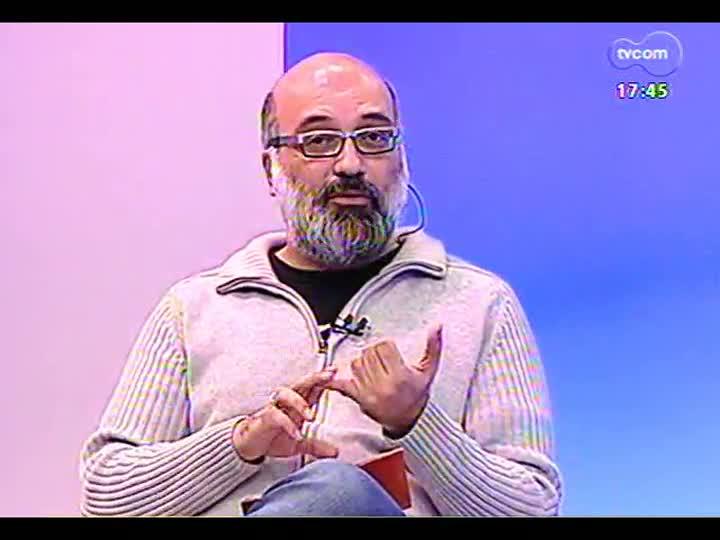 Programa do Roger - Atores Melissa Vettore e Leopoldo Pacheco falam sobre a peça \'Camille & Rodin\' - bloco 1 - 18/07/2013