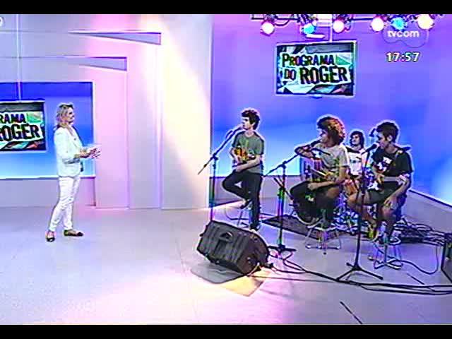 Programa do Roger - Banda Lepata lança clipe de \'Amigo do destino\' - bloco 2 - 04/11/2013