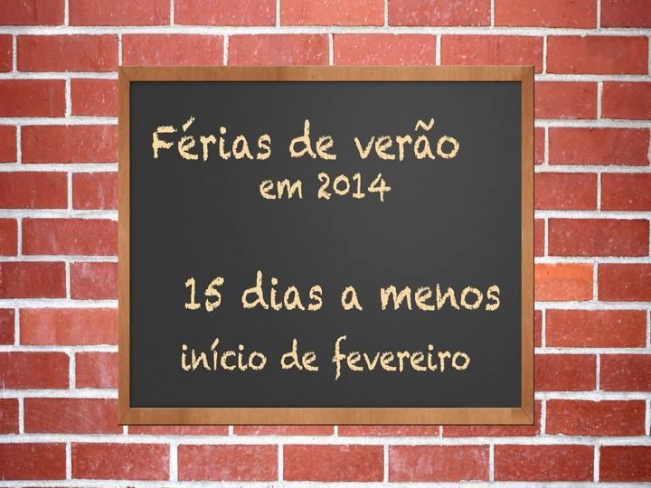 Porto da Copa - Confira a reportagem sobre o calendário escolar do ano que vem - Bloco 2 - 30/11/2013