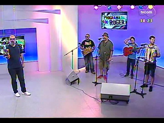 Programa do Roger - Maria Bonita encerra o programa com forró - Bloco 4 - 12/12/2013