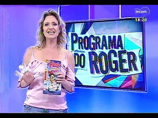 Programa do Roger - \'Lojinha\': ingressos e brindes para \'Minhocas\' - Bloco 4 - 08/01/2014