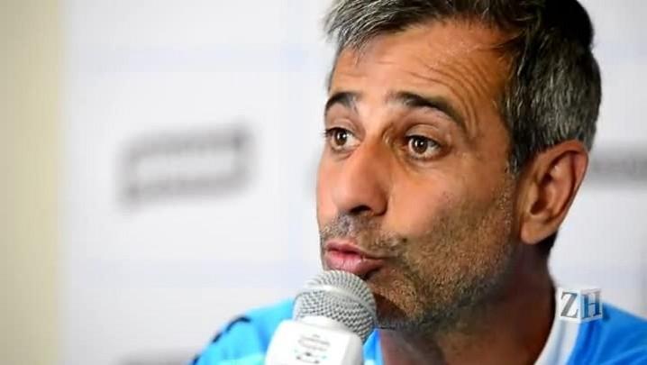 Confira trecho da coletiva com o preparador físico do Grêmio, Fábio Mahseredjian