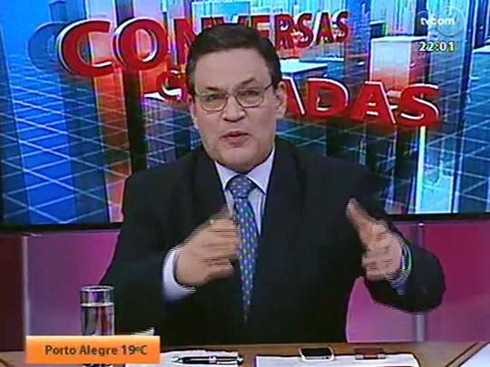 Conversas Cruzadas - A segunda passagem de Dunga pela Seleção será melhor ou pior que a primeira? - Bloco 1 - 22/07/2014