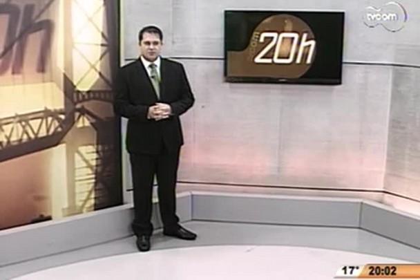 TVCOM 20 Horas - Deinfra deve relançar edital para conclusão da Ponte Hercílio Luz - 1º Bloco - 29/08/14