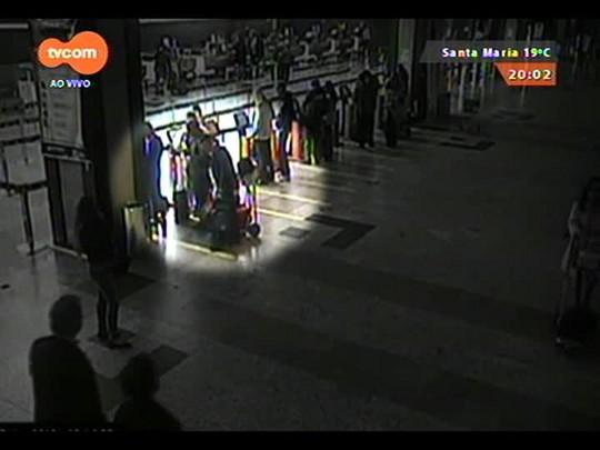 TVCOM 20 Horas - Novos casos de furtos de bagagens no Salgado Filho - Bloco 1 - 04/09/2014