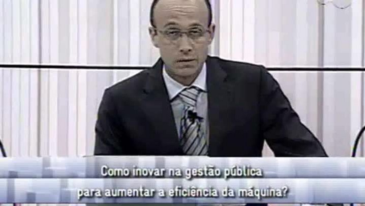 Conversas Cruzadas - Inovações para Aumentar a Eficiência da Máquina - 2ºBloco - 11.09.14