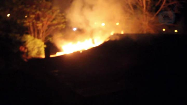 Veja imagens do incêndio no CTG