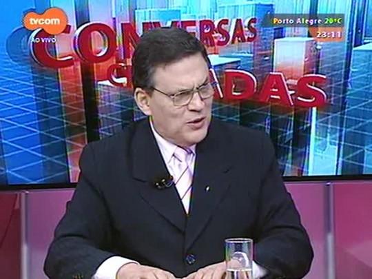 Conversas Cruzadas - Discussão sobre a possibilidade de adiamento do reajuste do funcionalismo estadual - Bloco 4 - 08/04/2015