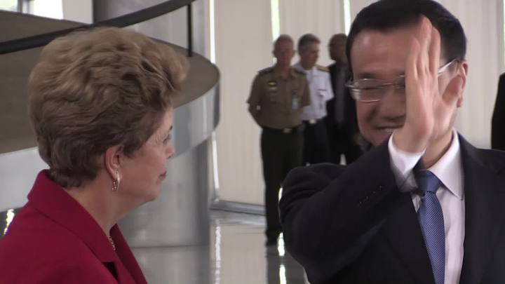 Primeiro-ministro chinês visita Brasília