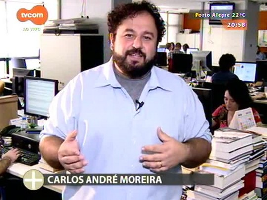 TVCOM Tudo Mais - Colunista Carlos André Moreira apresenta um livro sobre como era o século XX antes da Primeira Guerra Mundial