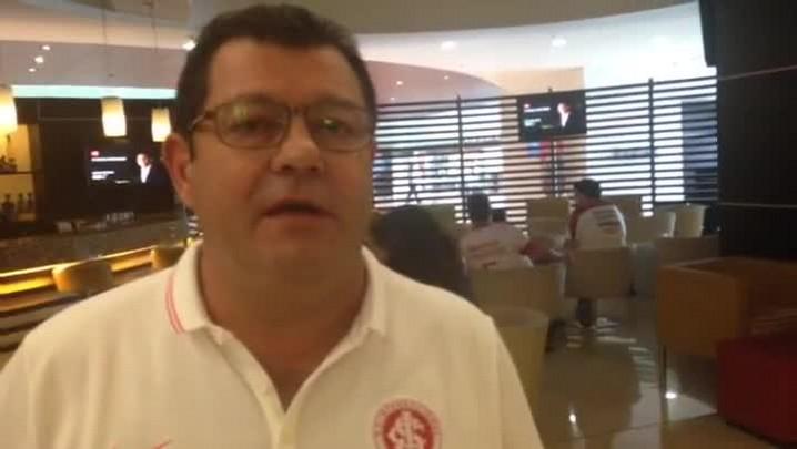 Carlos Pellegrini fala sobre ambiente para a semifinal da Libertadores