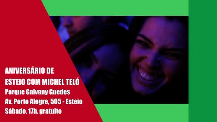 Show gratuito de Michel Teló e outros destaques do final de semana