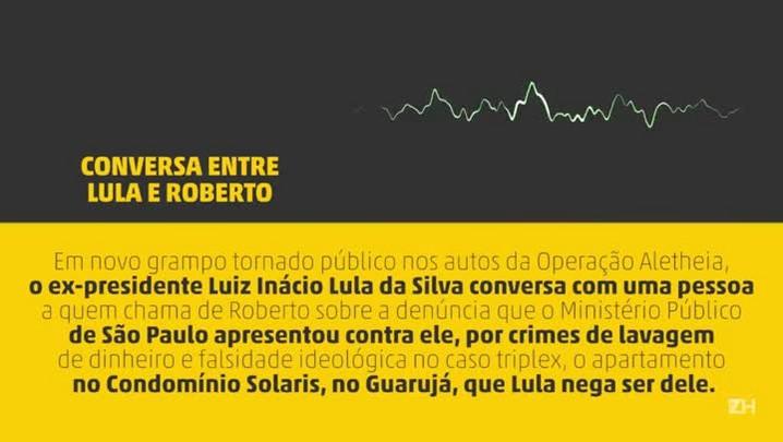 Grampo: Lula e Roberto