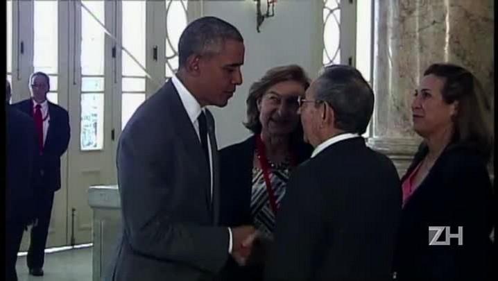 Obama faz discurso histórico em Cuba