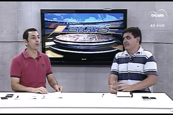 TVCOM Esportes. 3º Bloco. 01.04.16