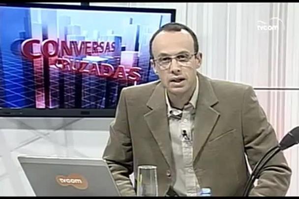TVCOM Conversas Cruzadas. 4º Bloco. 04.07.16