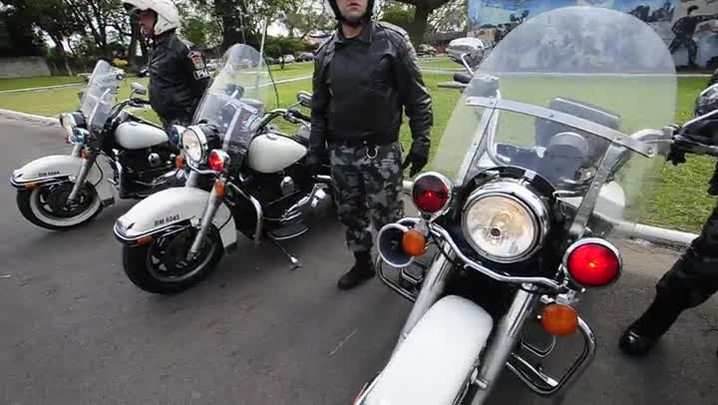 BOE de Santa Maria recebe quatro motos avaliadas em mais de R$ 60 mil cada