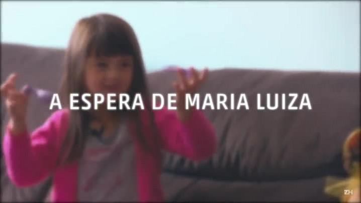 A espera de Maria Luiza