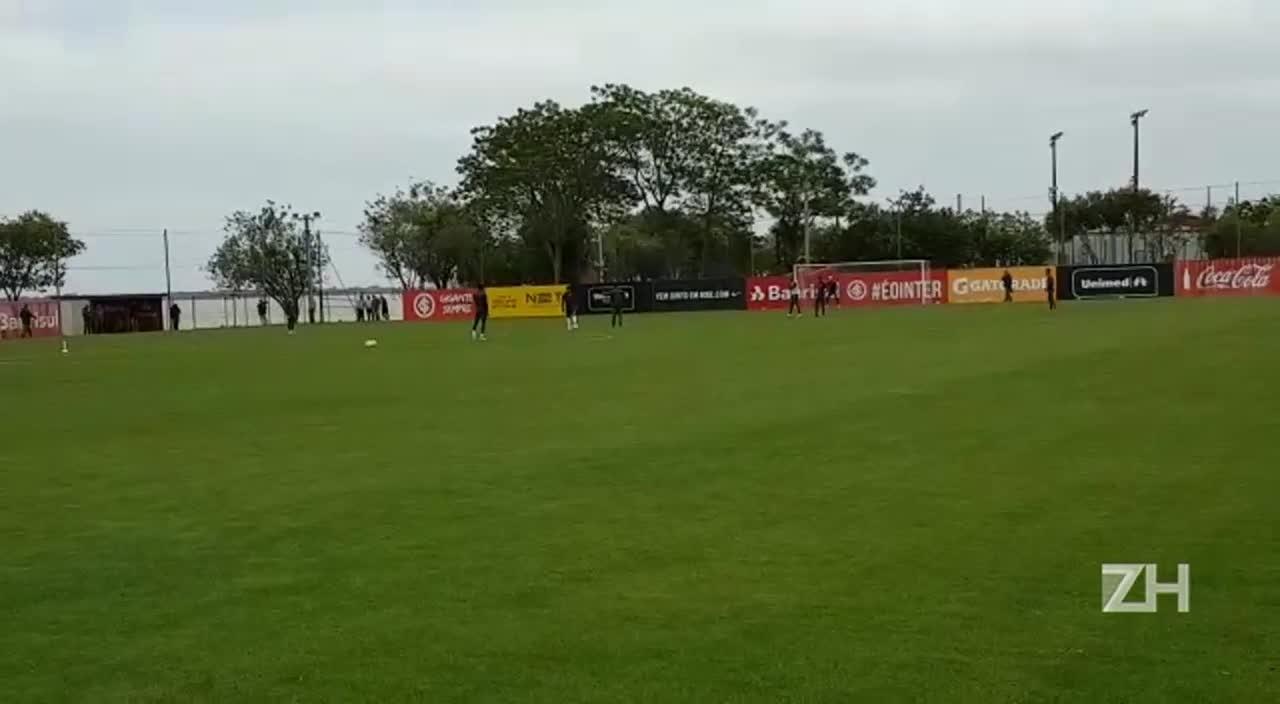Inter treina para confronto com o Santa Cruz