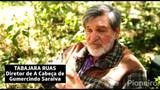 Bastidores das gravações de A Cabeça de Gumercindo Saraiva, em São Francisco de Paula