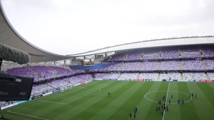 """Diogo Olivier: """"Ambiente de Arena aqui no Hazza Bin Zayed"""""""