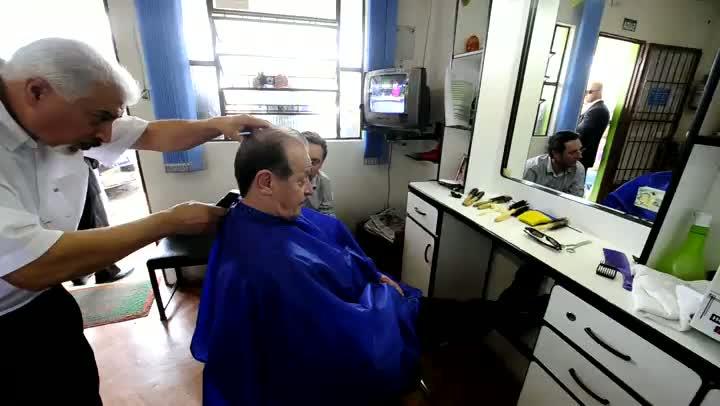 Tarso na barbearia
