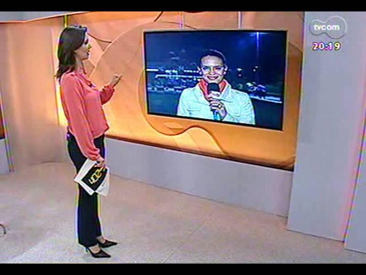 TVCOM 20 Horas - Especial comemorativo da Semana de Porto Alegre: entrevista com a presidente da Parceiros Voluntários, Maria Elena Johannpeter - Bloco 3 - 26/03/2013