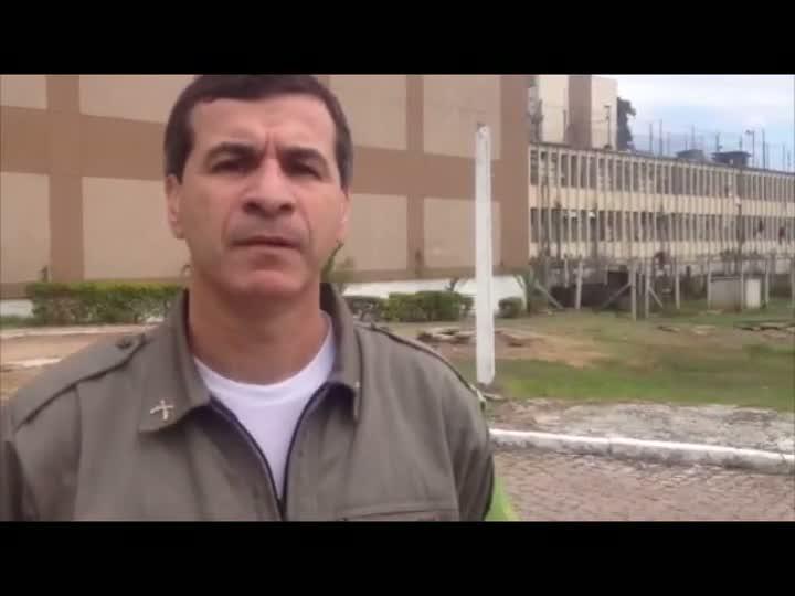 Presos na Operação Concutare ocupam duas celas do Presídio Central. 30/04/2013