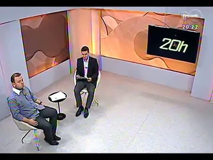 TVCOM 20 Horas - Diretor-geral do DMLU fala sobre a limpeza no Arroio Dilúvio - Bloco 3 - 02/05/2013