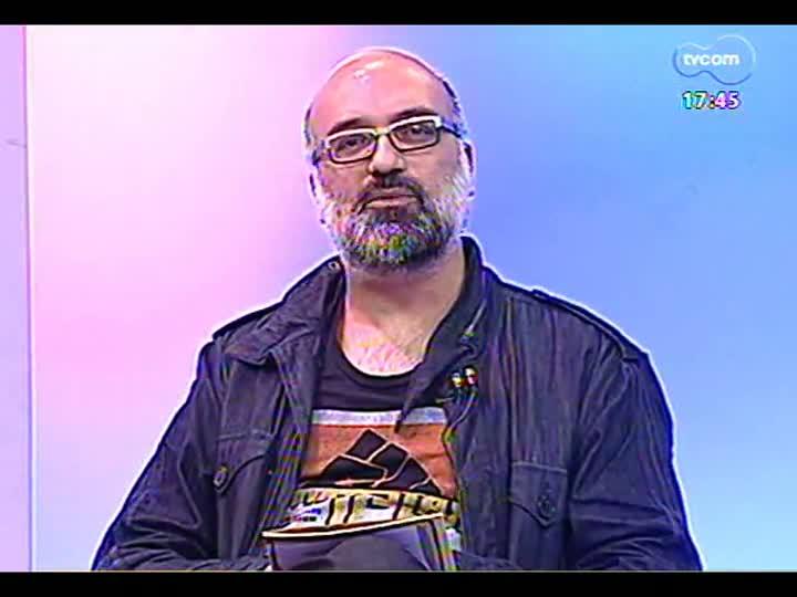 Programa do Roger - Escritor Luiz Ruffato fala sobre a FestiPoa Literária - bloco 1 - 07/05/2013