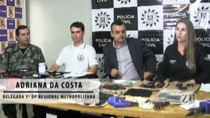 Operação Matrix prende 12 suspeitos de tráfico na Região Metropolitana