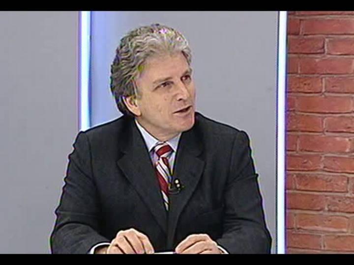 Mãos e Mentes - Chefe de Oncologia do HCPA, Gilberto Schwartsmann - Bloco 1 - 30/05/2013