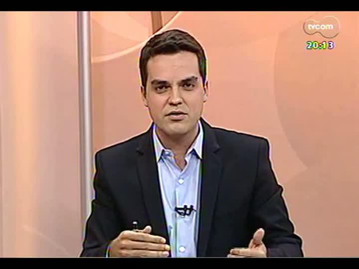 TVCOM 20 Horas - Deputados Danrlei de Deus e Vieira da Cunha falam sobre o fim do recesso parlamentar - Bloco 2 - 31/07/2013
