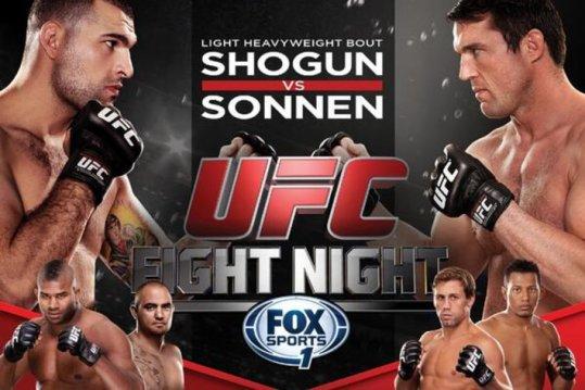 Chael Sonnen vs. Maurício Shogun neste sábado pelo UFC