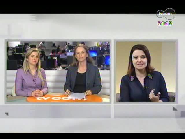 TVCOM Tudo Mais - Comer rápido engorda? A colunista Aline Mendes responde