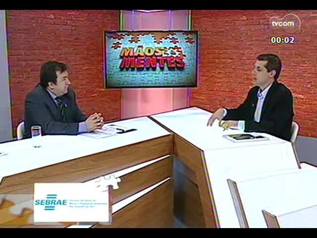 Mãos e Mentes - Diretor-superintendente do Grupo Hospitalar Conceição, Dr. Nery Paes - Bloco 3 - 21/11/2013