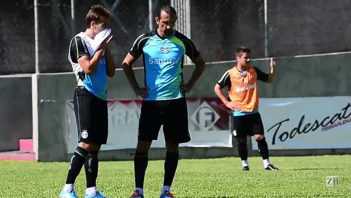 Confira imagens do treino do Grêmio