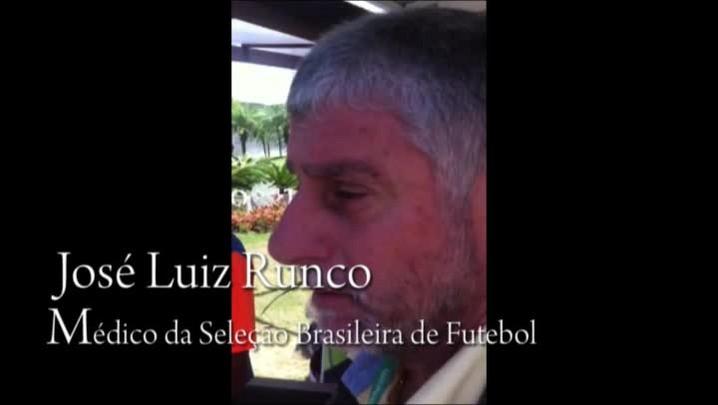 Entrevista com o médico da seleção brasileira José Luiz Runco