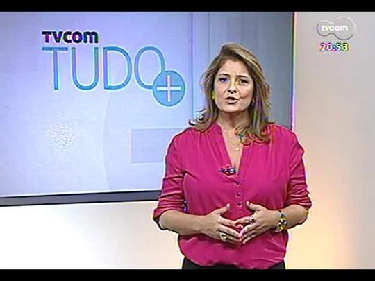 TVCOM Tudo Mais - Conheça história de casal que cozinha sem alimentos de origem animal