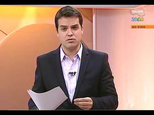 TVCOM 20 Horas - Ganeses pressionam por refúgio no Brasil - Bloco 3 - 11/07/2014