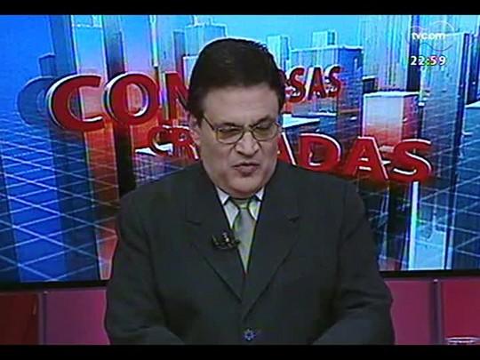 Conversas Cruzadas - Projeto viabiliza a criação de pelo menos 200 novos municípios no país - Bloco 3 - 06/08/2014