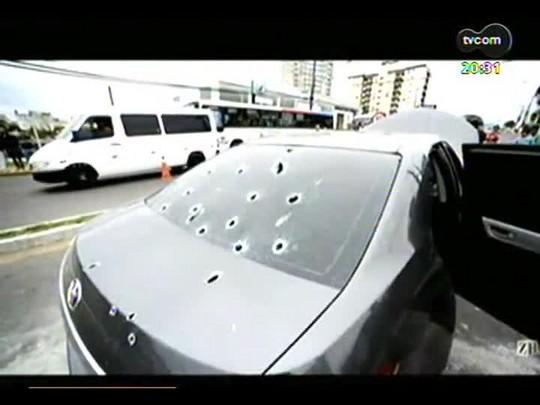 TVCOM 20 Horas - Criminoso é morto e outro ferido em perseguição em Gravataí - Bloco 3 - 07/08/2014