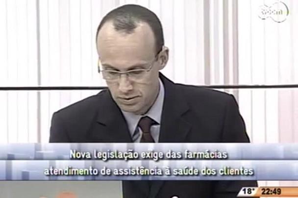 Conversas Cruzadas - Nova legislação exige das farmácias atendimento de assistência à saúde dos clientes - 4º Bloco - 02/09/14