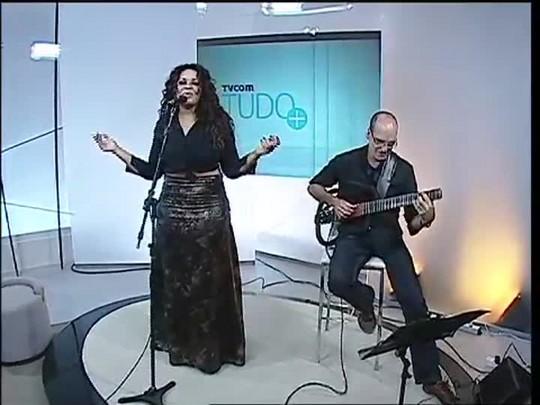 TVCOM Tudo Mais - Ana Lonardi canta no Tudo Mais e fala sobre apresentação em Paris