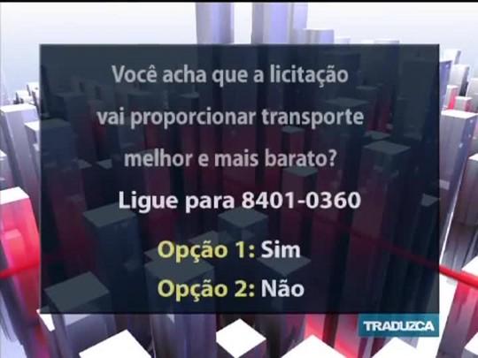 Conversas Cruzadas - O edital para a licitação do transporte público em POA - Bloco 2 - 17/11/2014
