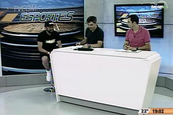 TVCOM Esportes - Atacante Rodrigo Gral comenta a situação da Chapecoense na série A - 17.11.14
