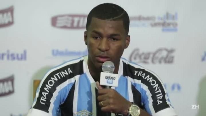 Erazo, o novo zagueiro do Grêmio