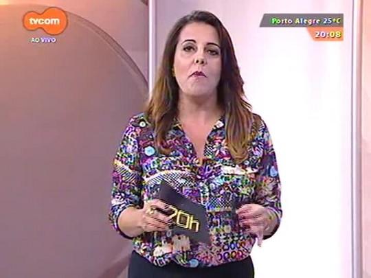 TVCOM 20 Horas - Rosane de Oliveira analisa os protestos na capital e a possibilidade de parcelamento de salário de servidores estaduais - 12/03/2015