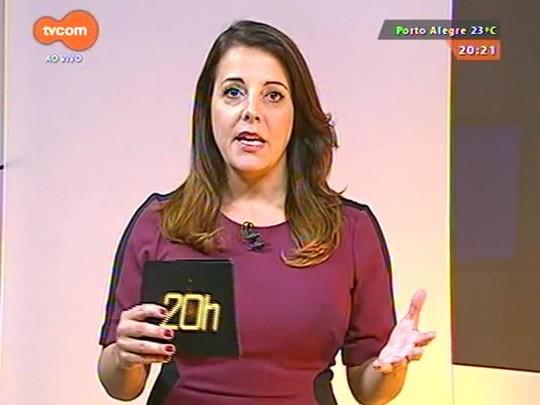 TVCOM 20 Horas - Vinícius Ribeiro assume cadeira de Sossella na Assembleia Legislativa - 01/04/2015